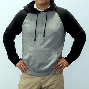 American Rag Black and gray hoodie Medium